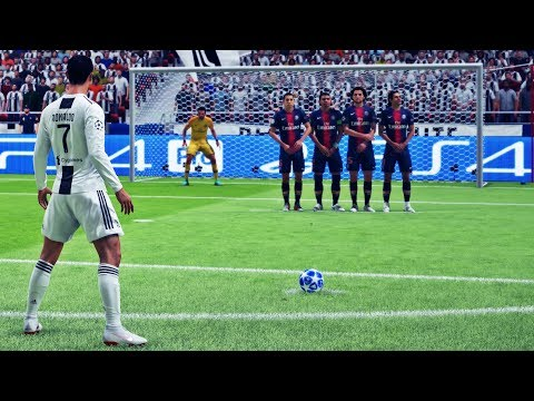 FIFA 19 - Free Kick Compilation #1 HD PS4 PRO