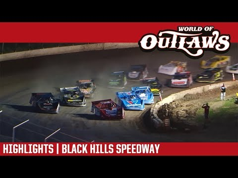 World of Outlaws Craftsman Late Models Black Hills Speedway July 10, 2018 | HIGHLIGHTS