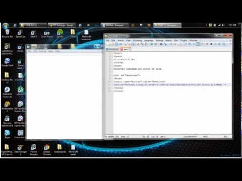 HTML & CSS Tricks - Download Button
