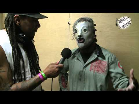 Corey Taylor from Slipknot interviewed by Kriss Panic.