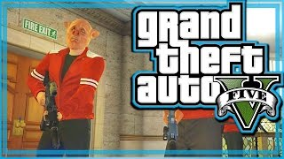 GTA 5 Heists Funny Moments Pacific Rim Job - We Ride Together, Robbing the Bank, and More! (Part 2)