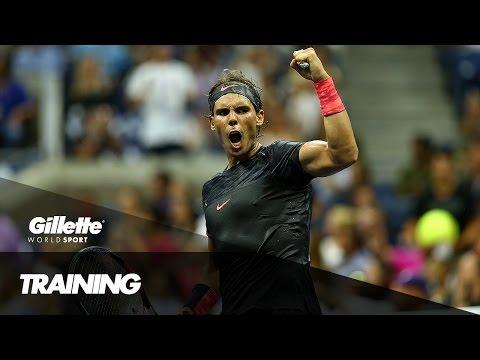 Training at the Rafa Nadal Academy | Gillette World Sport