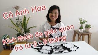 Cô Anh Hoa - Chơi với bé cùng bộ Học liệu Thân thiện Cánh diều kích thích đa giác quan