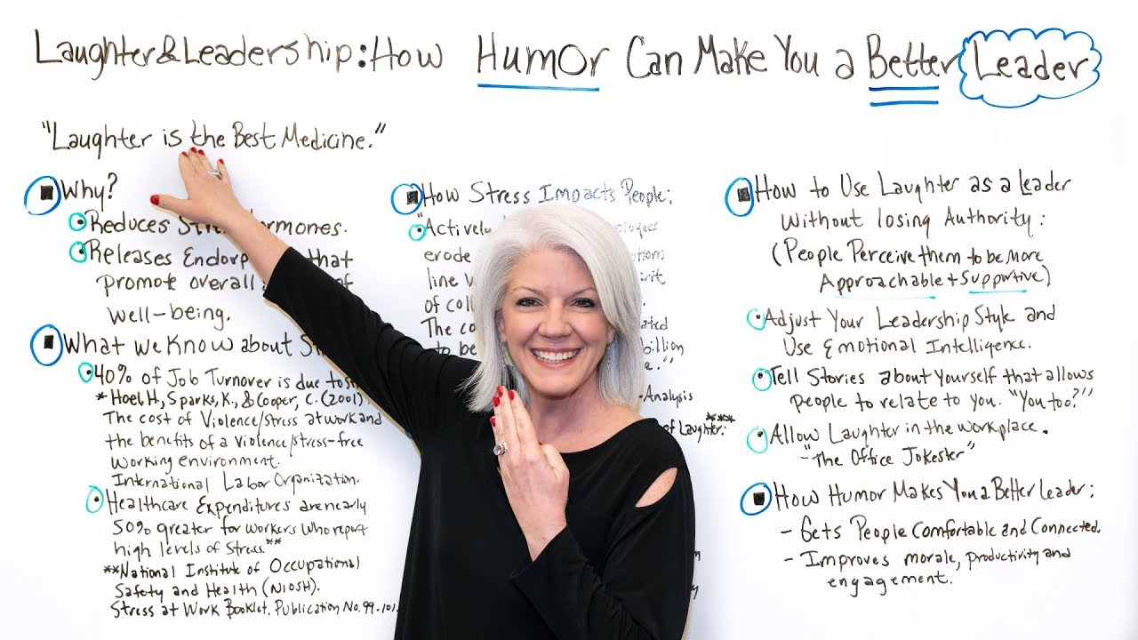 Laughter & Leadership: How Humor Can Make You a Better Leader