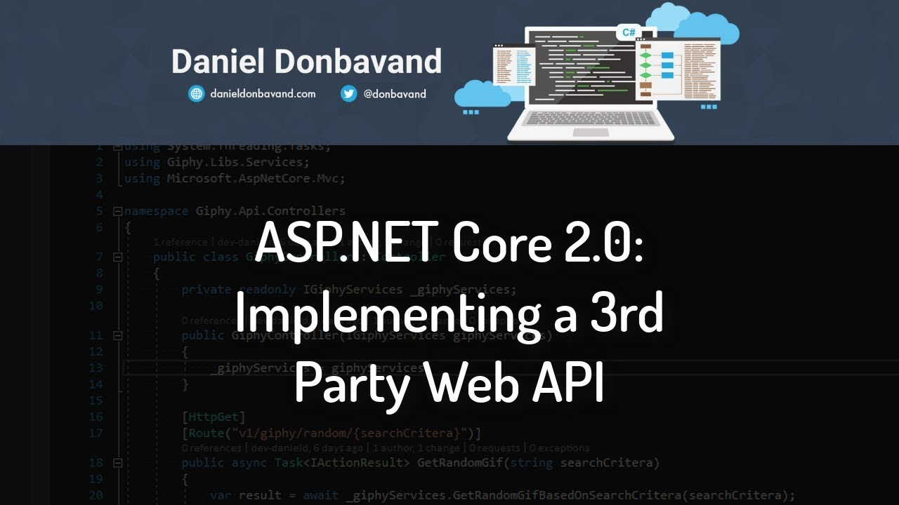 ASP NET Core 2 0: Implementing a 3rd Party Web API