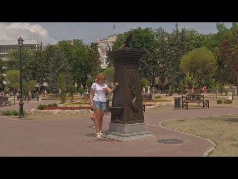 Пятигорский парк Цветник открыт после реконстркции