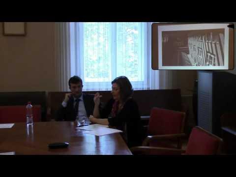 Part 1/7: Adéla Gjuričová: »Coming to (Short) Life: The Czechoslovak Parliament 1989-1992«