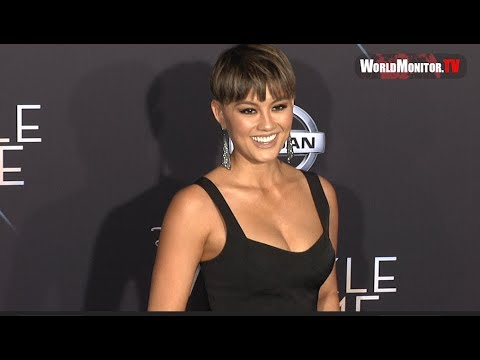 Agnez Mo arrives at Disney's 'A Wrinkle In Time' Los Angeles premiere