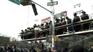 Kiddish Hachama with Satmar Rebba in Williamsburg Brooklyn, NY Erev Pesach 4/8/2009 (2)