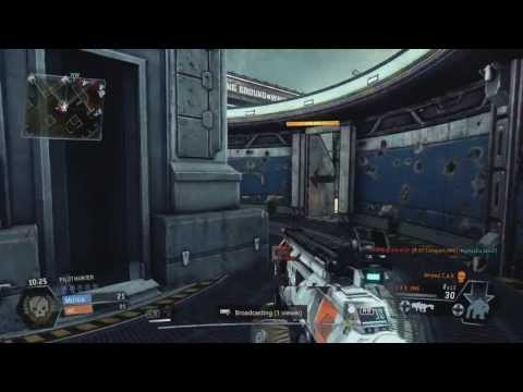 PS4 VR Headset Project Morpheus-Titanfall Pilot Hunter Gameplay Commentary