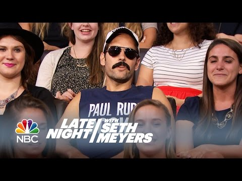 Paul Rudd Wants to See Paul Rudd  Late Night with Seth Meyers