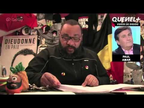 Dieudonné : Attentats de Bruxelles , Paul Amar , Guadeloupe