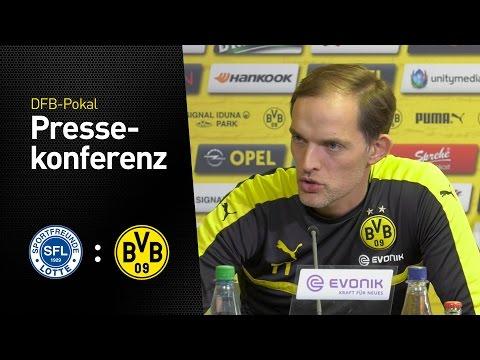 Thomas Tuchel: Ein Gegner, der nichts zu verlieren hat. | Sportfreunde Lotte - BVB