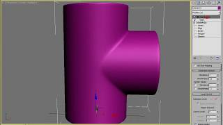 Cоединение труб в 3ds max p1(, 2013-04-03T08:20:53.000Z)