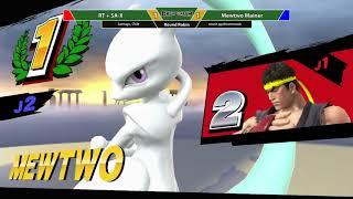 Dream Smash 2018 #29 ~ RT + SA-X (Ryu) vs. Mewtwo Mainer (Mario / Mewtwo) ~ Round Robin