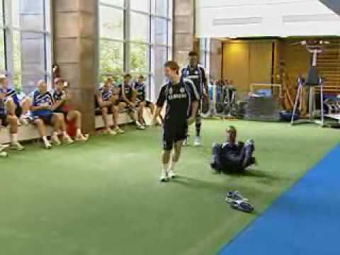 The 2009 Chelsea FC Academy Dance-Off
