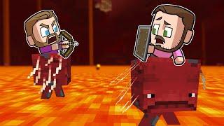 Nether Strider Lava Race! | Minecraft