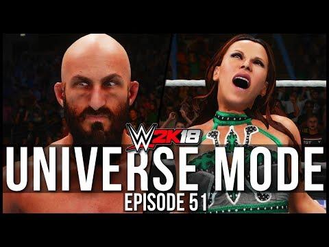 WWE 2K18 | Universe Mode - 'SUMMERSLAM PPV!' (PART 2) | #51