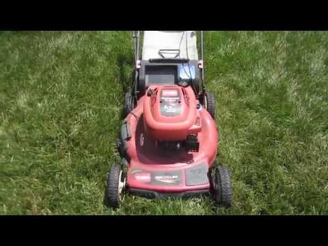 Toro Personal Pace Recycler Model 20073 Lawn Mower - Broken Rope Craigslist Find Part I -June 9,2014