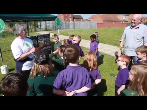 Tree Appeal tree planting day at West Park Academy School