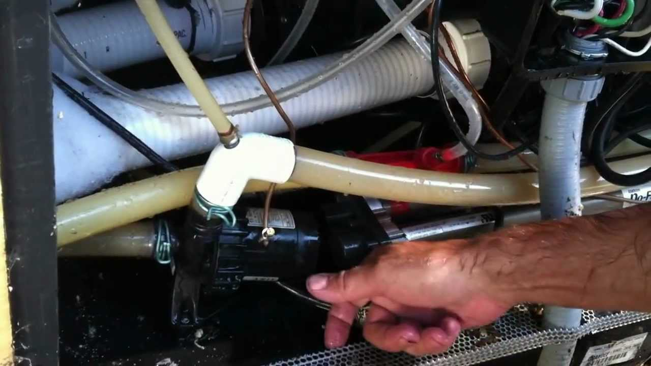 Hot Spring Circulation Pump Air Lock Youtube