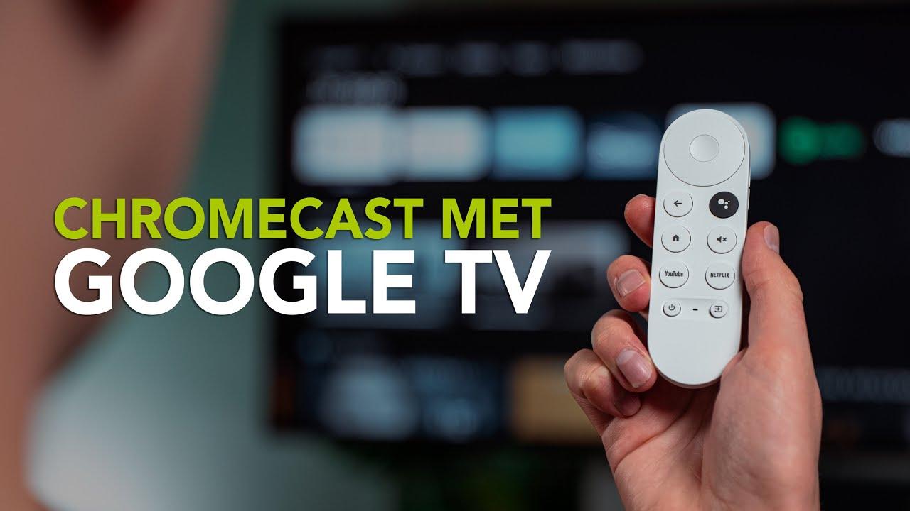 Chromecast met Google TV: aan de slag met de nieuwe streaminggadget