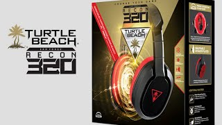 TURTLE BEACH Earforce Recon 320 unboxing