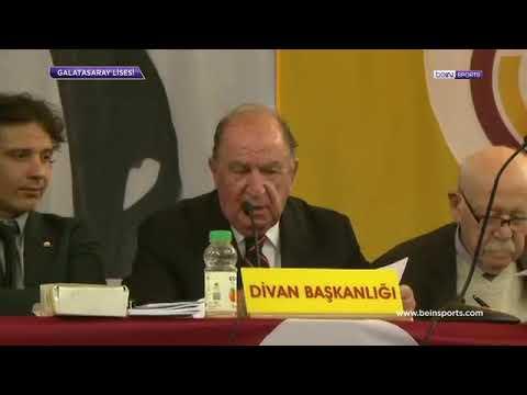 Galatasaray'ın Yeni Başkanı Mustafa Cengiz. | Galatasaray Seçim Sonuçları