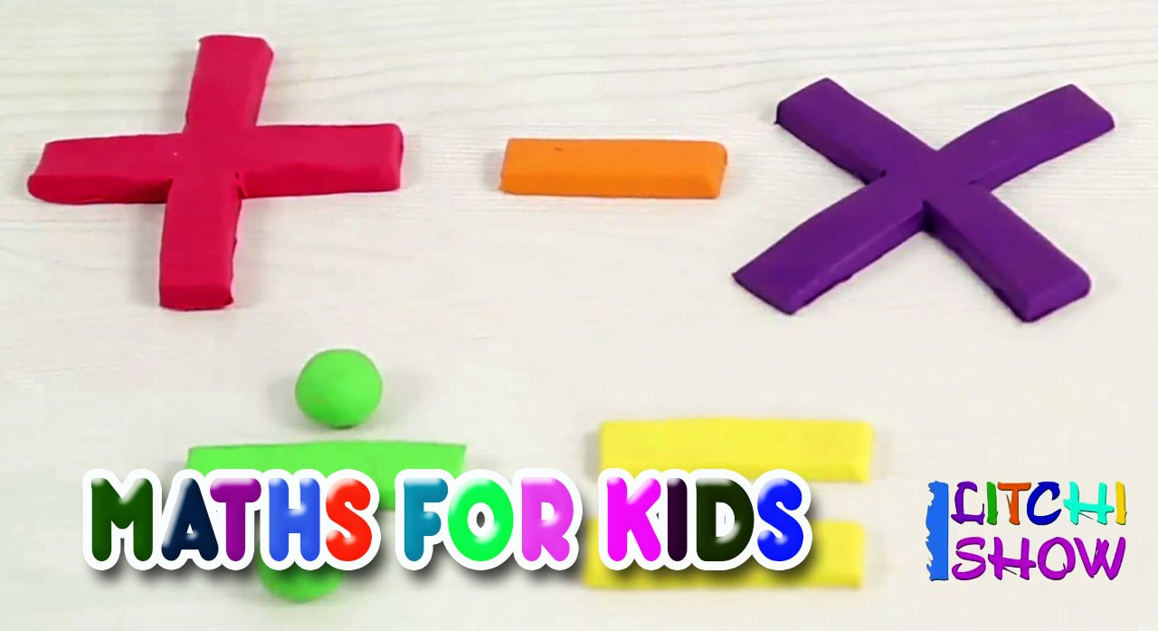 Learn Math for Kids | Basic Math For Toddlers | Elementary maths for  kindergarten kids | Play Doh