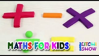 Learn Math for Kids   Basic Math For Toddlers   Elementary maths for kindergarten kids   Play Doh