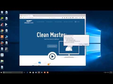 Download + Install Clean master for pc clean master clean masterfor PC download