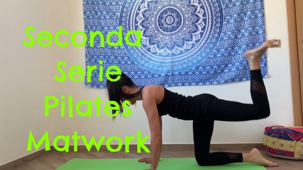 Seconda serie - allenamento pilates - YouTube