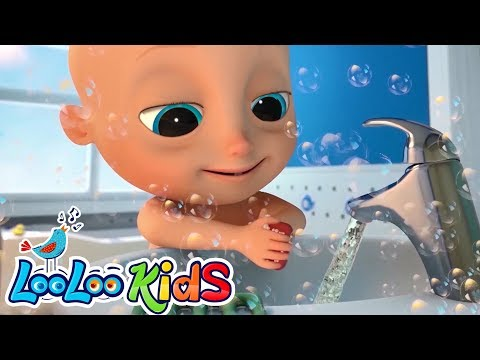 LooLoo – Wash Your Hands – Educational KIDS Songs | LooLoo KIDS – Cantece pentru copii in limba engleza