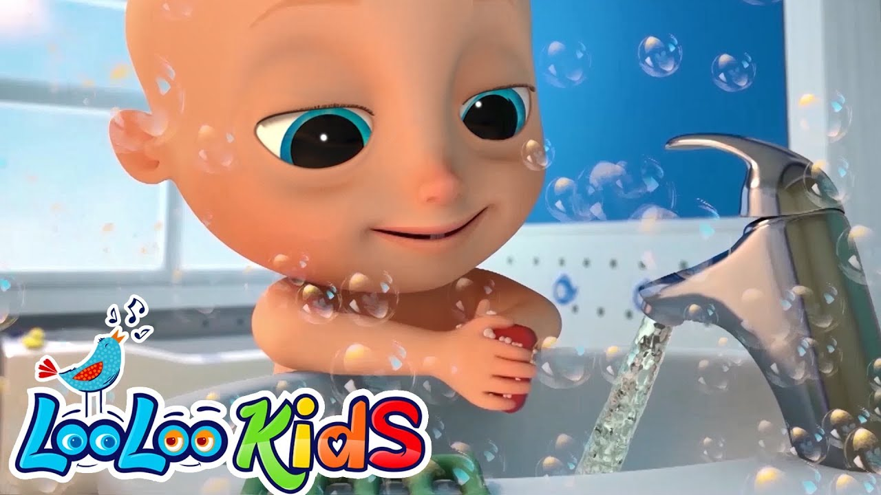 Johny Johny Wash Your Hands, baby! - Educational KIDS Songs | LooLoo KIDS