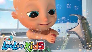 Johny Johny Wash Your Hands, baby! - Educational KIDS Songs | LooLoo KIDS