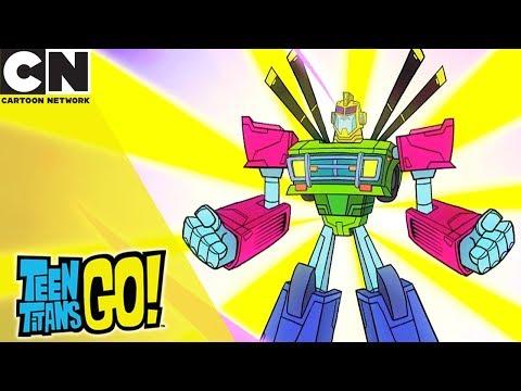 Teen Titans Go! | Fallout Bot & Cee Lo Bear | Cartoon Network