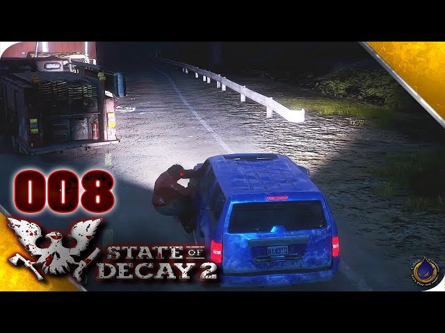 Let's Play STATE OF DECAY 2 💀 [008] Zombie Mitfahrzentrale