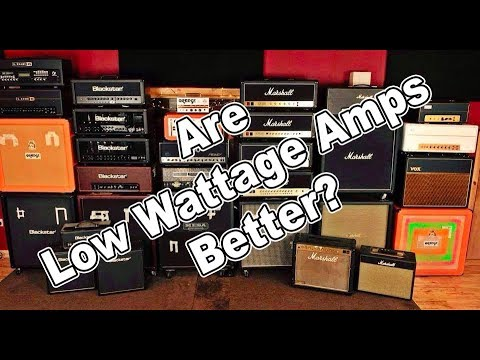 are low wattage guitar amps better than high watt amps youtube. Black Bedroom Furniture Sets. Home Design Ideas
