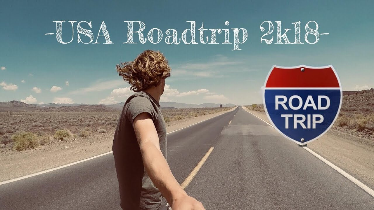 USA 2018 ROADTRIP WEST COAST - San Francisco To Los Angeles