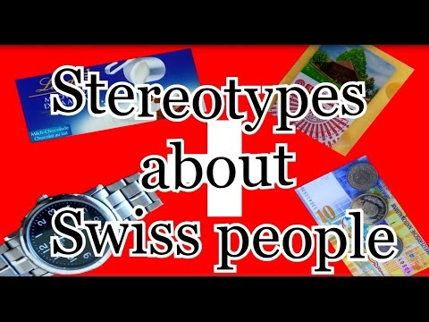 Stereotypes about Swiss people