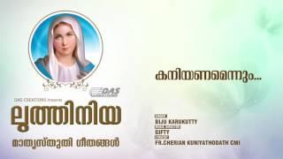 Kaniyanamennum | Sung by Biju Karukutty  | Luthiniya (Njangalkayi Daivamathave)  | HD Song