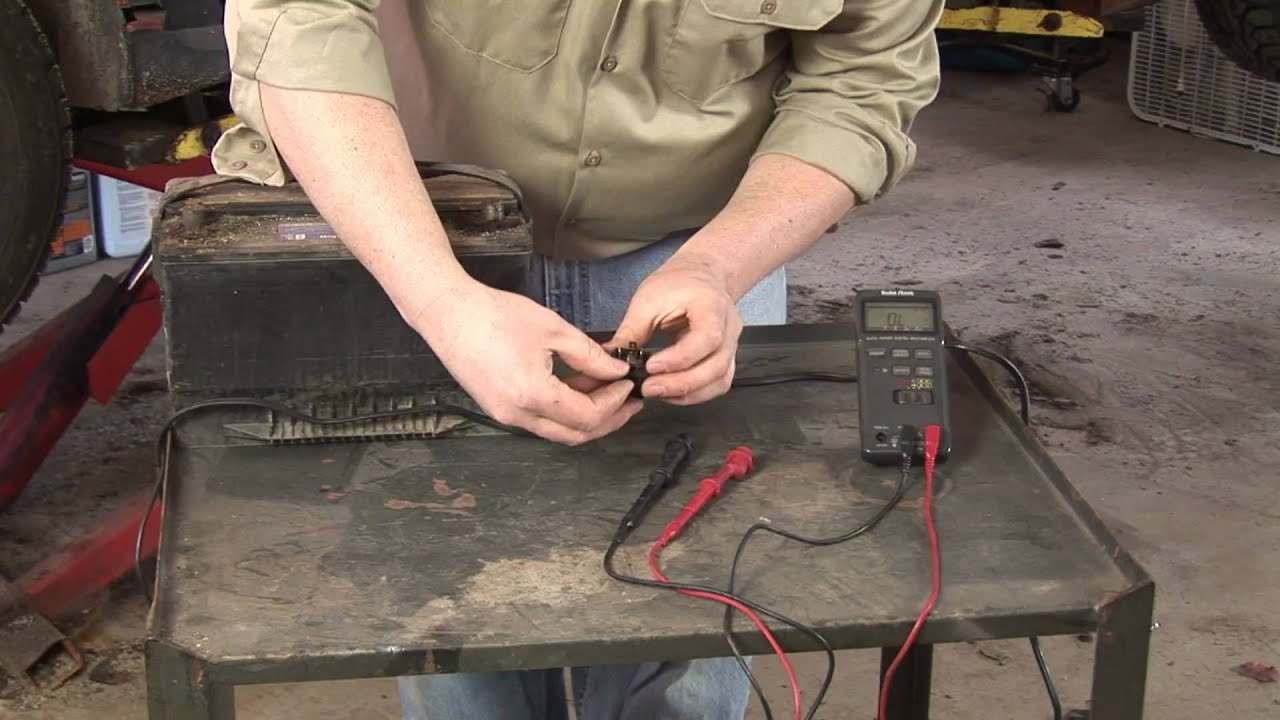 Auto Repair  Mechanics  How To Test A Car Relay YouTube - How to test 12v 5 pin relay