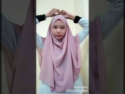 TUTORIAL SHAWL GAYA 2