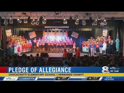 Chocachatti Elementary School Pledge of Allegiance