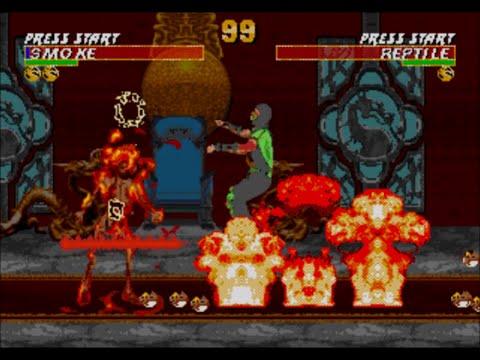 Ultimate Mortal Kombat Trilogy XL Glitch Demonstration