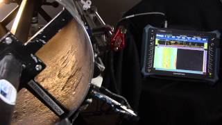 Phased Array Ultrasonic Testing for internal corrosion mapping