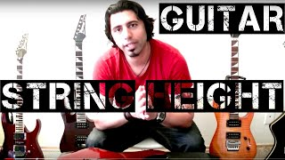 Guitar Set Up Lesson How to adjust the String Height Action on Your Guitar Tutorial (2 out of 3)