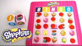 Shopkins Big Roll Bingo from Pressman Toy