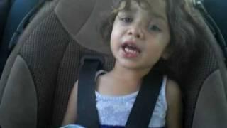 Lady gaga-paparazzi cover by three year old #2 (vma version)