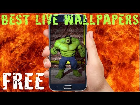 TOP Hulk Live Wallpapers FREE
